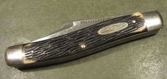 Imperial Diamond Edge 353 USA MoorMans Feed Ad Stockman Old Vtg 3BL Pocket Knife #Imperial