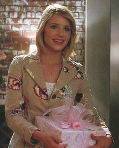 Quinn Fabray in Anthropologie Coat #Glee