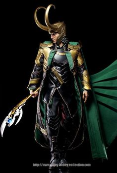 Hot Toys Avengers Loki Final Product - Action Figure Fury  so cool....NOW where do we get one??