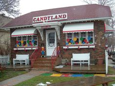 Candyland Lambeth Ontario. If you've never been it is a must! They have candy from the floor to the ceiling!