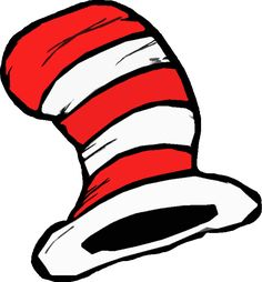 Free Printable Cat In The Hat Hat In Either Color Or Black