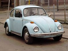 "1970 VW Beetle. We had one of these as an extra ""family car."" My dad bought it from a priest, and my sister and I drove the hell out of it."