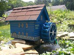 Water wheel DIY