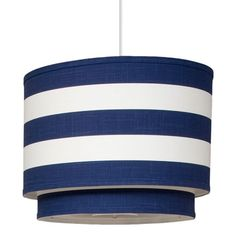 striped double cylinder pendant