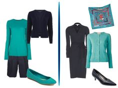 Chic Sightings: Turquoise and Navy | The Vivienne Files