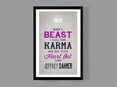 Katy Perry Custom Poster - Dark Horse Lyrics - Colorful & quirky home decor - Juicy J on Etsy, $18.00