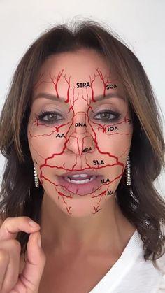 Face Muscles Anatomy, Facial Anatomy, Facial Muscles, Face Fillers, Dermal Fillers, Relleno Facial, Botox Face, Dental Photos, Thread Lift