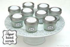 {Spa Party} Sugar Hand Scrub Recipe