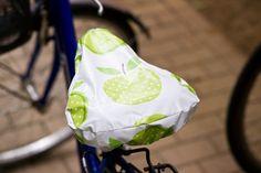 Sattelschutz fürs Fahrrad selber nähen Anleitung