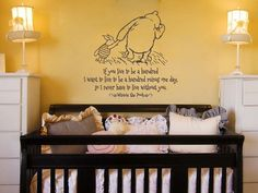 Classic Pooh  If I Live to Be A Hundred  Baby by GSGVinylDesigns, $28.00
