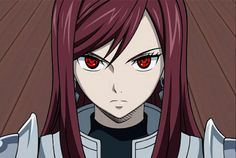 Erza Scarlet from Fairy Tail Anime Fairy Tail, Fairy Tail Funny, Fairy Tail Girls, Fairy Tail Couples, Nalu, Fairytail, Jerza, Fairy Tail Characters, Anime Characters