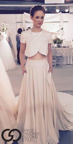 Elizabeth Stuart Moonflower Dress at New York Bridal Week October 2014- Grace Ormonde Wedding Style #elizabethstuart