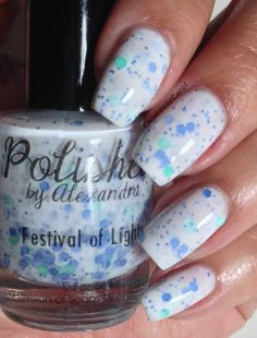 FESTIVAL OF LIGHTS  Handmade Nail Polish  Full by SoapsByAlexandra, $8.75