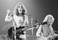 Eagles in 1974 at the Schafer Music Festival