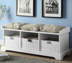 12 Best Storage Bench With Cushion Images In 2017 Storage Bench