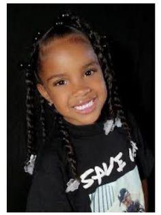 Lil Girl Hairstyles, Black Kids Hairstyles, Easy Hairstyles For Medium Hair, Natural Hairstyles For Kids, Kids Braided Hairstyles, Little Girl Twist Hairstyles Black, Toddler Hairstyles, Short Hairstyles, Short Hair Styles Easy