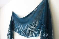 Loch Katrine Shawl knitting pattern by Littletheorem on Craftsy