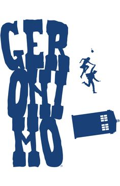 """""""Geronimo Doctor Who"""" (by Scott Brian Woods)"""