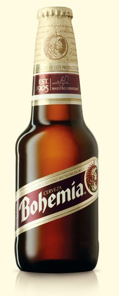 """Bohemia is a full, rich beer of earthly complexity. The deep subtle aromas of fruits, roasted barley, and minerals give way to flavors that have almost cocoa-like bitterness and sweet hints of vanilla at the same time. A very sophisticated beer and terrific as a counterpoint to food."""""""