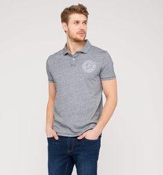 Herren Poloshirt in grau-melange - Mode günstig online kaufen - C&A