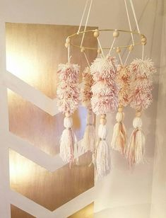 If you are looking for a one of a kind mobile to complete your babys Nursery, this is definitely it! This gorgeous baby chandelier fits perfectly in boho and tribal nurseries. Each mobile is made to order and one of a kind and can be customized to match any nursery. Think how lovely