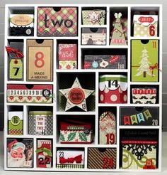 12月1日から24日までカレンダーで日付のところに仕掛けがあります。