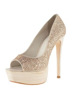 Crystallized Satin Pump by Alice + Olivia - You had me at hello!!
