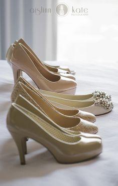 Nude bridesmaids shoes  |  Flat wedding shoes  |  Mint wedding  |  City wedding  |  Aislinn Kate Photography | Wedding (Pensacola Wedding Photographer)