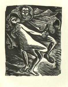 Ernst Barlach, Goethes Walpurgisnacht