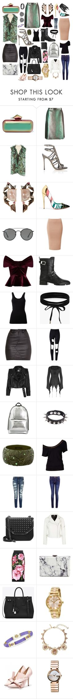 """""""Some of my favorite things #64"""" by andyarana ❤ liked on Polyvore featuring Jimmy Choo, Marco de Vincenzo, Lanvin, Sergio Rossi, Nak Armstrong, Christian Louboutin, Ray-Ban, Emilio De La Morena, Alexander Wang and Theory"""