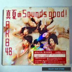 AKB48's 26th Single - Manatsu no Sounds good! Type-B (Limited Edition)  Kondisi: - Mint/Seperti baru - Produk original - Dibuka hanya untuk cek dan belum pernah di play - Termasuk lyrics card dan obi - CD & DVD + bonus 2 photo  Harga : Rp250.000