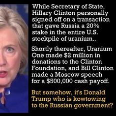 What would you expect? A communist liberal like Hillary doing deals with communist countries. Why are we shocked???
