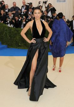 """Adriana Lima attends the """"Rei Kawakubo/Comme des Garcons: Art Of The In-Between"""" Costume Institute Gala at Metropolitan Museum of Art. 