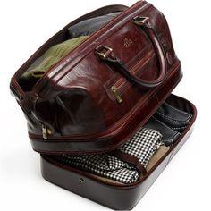 0b7f60b373e Maleta de viaje para hombre. Zapatos De Lujo, Bolsos Para Hombre, Moda  Hombre