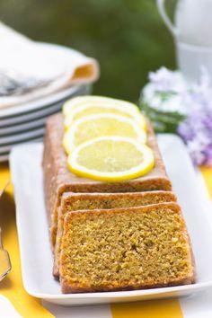 Lemon pound cake *made with whole wheat flour :)