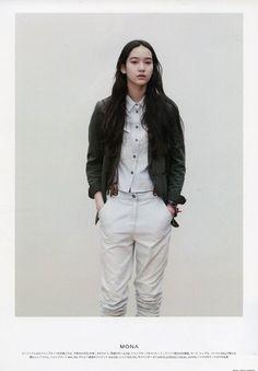 In Asian style Asian Fashion, Fashion Beauty, Girl Fashion, Moda Casual, Casual Chic, Mona Matsuoka, Vogue, Facon, Asian Style
