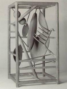 La jaula de Alberto Giacometti