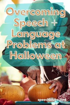 Whether it's Halloween-themed activities, Halloween costumes, Halloween treats, Halloween decorations, or Halloween parties, as I'm sure you can tell, we LOVE HALLOWEEN! Stay calm in the run-up to Halloween by doing speech therapy at home. Halloween Parties, Halloween Treats, Halloween Decorations, Halloween Costumes, Good Adjectives, Speech Delay, Pumpkin Contest, Apraxia