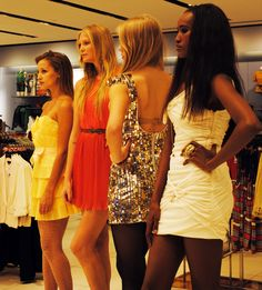 Party dresses! Want all.