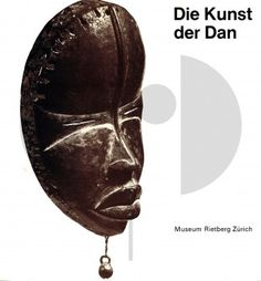 46 Die Kunst der Dan H 22 cm. B 21 cm.   - Eberhard Fischer - Hans Himmelheber  Zürich: Museum Rietberg (1976).  Field research in collaboration with George W. Rahmen, Sanniquellie, Liberia and Tiemoko Gba, Man, Ivory Coast. Photos of the works of art by Isabelle Wettstein and Brigitte Kauf.  German text 208 pages 238 monochrome illustrations Softcover