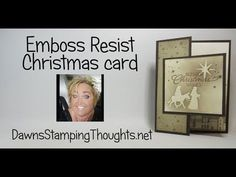 Emboss Resist Christmas card - Angela Theroux Emboss Resist Christmas card Emboss Resist Christmas c Happy Birthday Flowers Wishes, Beautiful Birthday Cards, Beautiful Christmas Cards, Chrismas Cards, Stampin Up Christmas, Xmas Cards, Christmas Christmas, Handmade Christmas, Holiday Cards