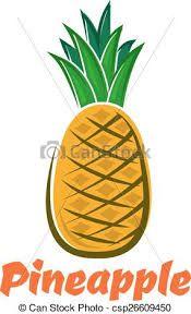 Risultati immagini per ananas disegno animato