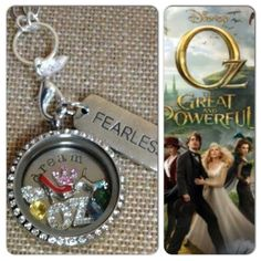 Wizard of Oz inspired... OZ Great and Powerful Origami Owl Living Lockets!