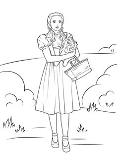 Wizard of Oz Coloring Pages 25 - Free Printable Coloring Pages ...