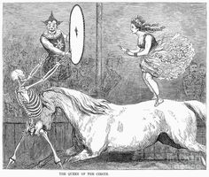 Granger, 1878 Circus: Acrobat, Metal Print