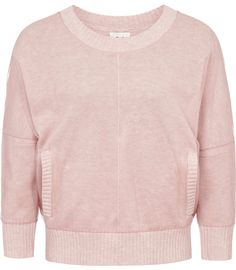 Pretty little pink sweatshirt.