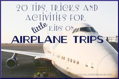 20 Tips for Surviving Airplane Travel with Kids from www.MakeSomethingDaily.com