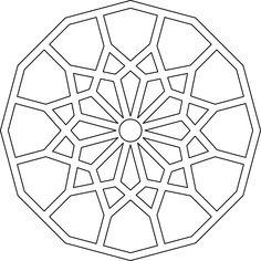 Islamic Pattern Project #1 (Download) | Dana Krystle online portfolio