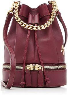 Manu Atelier Zeal Leather Bucket Bag