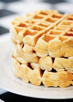 Cinnamon Nutmeg Waffles | Kevin & Amanda's Recipes